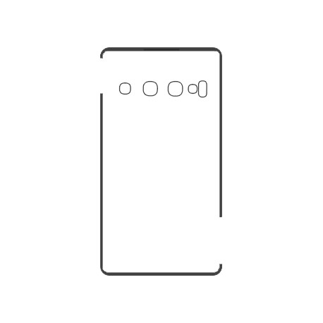 Samsung S10+ Backcover