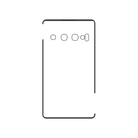 Samsung S10 Backcover