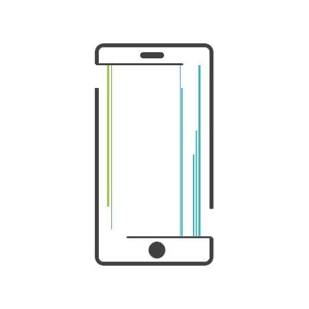 iPhone 8 Plus Display Reparatur Nachbau