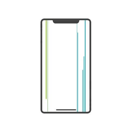 iPhone X Display Reparatur Nachbau