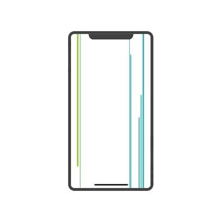 iPhone XS Display Reparatur Nachbau